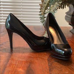 Black 3 1/2 inch Heel